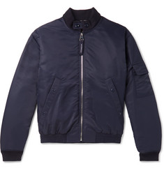 Burberry Padded Shell Bomber Jacket