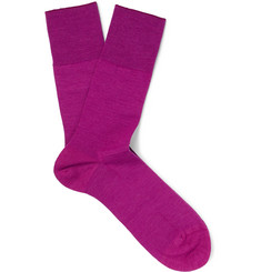 Falke Airport Virgin Wool-Blend Socks