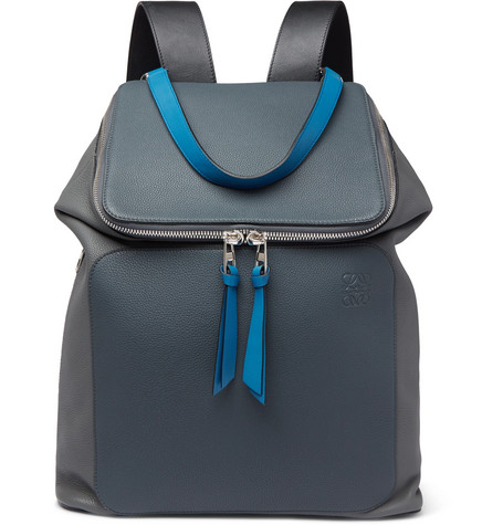 Goya Full Grain Leather Backpack by Loewe