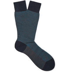 Pantherella - Blenheim Merino Wool-Blend Socks