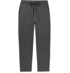 Barena - Stretch-Virgin Wool Flannel Drawstring Trousers