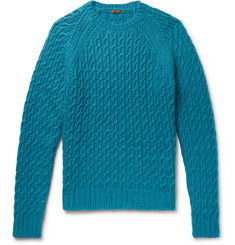 Barena Slim-Fit Cable-Knit Sweater