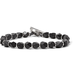 M.Cohen - Onyx and Sterling Silver Bracelet