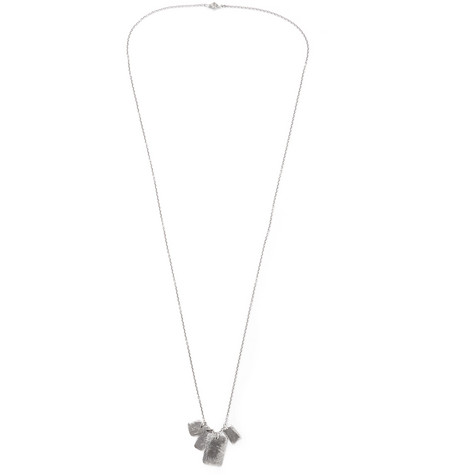M.COHEN SILVER-TONE NECKLACE