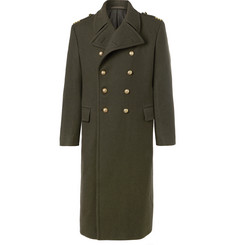 Ralph Lauren Purple Label Double-Breasted Wool Coat