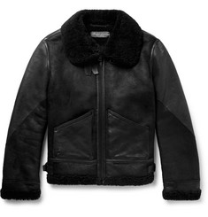 Ralph Lauren Purple Label - Shearling Jacket