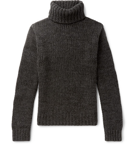 Cashmere Rollneck Sweater by Ralph Lauren Purple Label