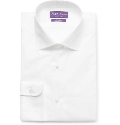 White Aston Cotton-poplin Shirt