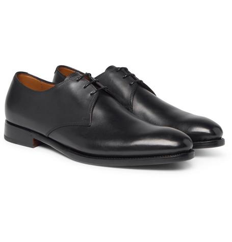 Dalvin Leather Derby Shoes by Ralph Lauren Purple Label
