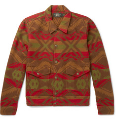 RRL - Ralston Cotton and Wool-Blend Jacquard Shirt Jacket