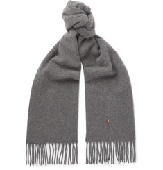 Polo Ralph Lauren Fringed Wool Scarf