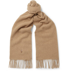 Polo Ralph Lauren - Fringed Virgin Wool Scarf