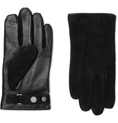 Polo Ralph Lauren Suede and Leather Gloves