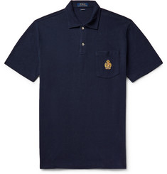 Polo Ralph Lauren - Logo-Embroidered Cotton-Piqué Polo Shirt