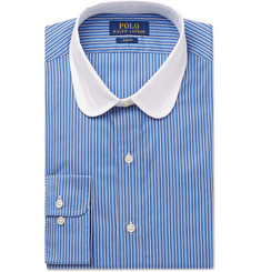 Polo Ralph Lauren Slim-Fit Penny-Collar Striped Cotton Shirt