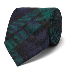 Polo Ralph Lauren - 7.5cm Madison Checked Wool-Twill Tie