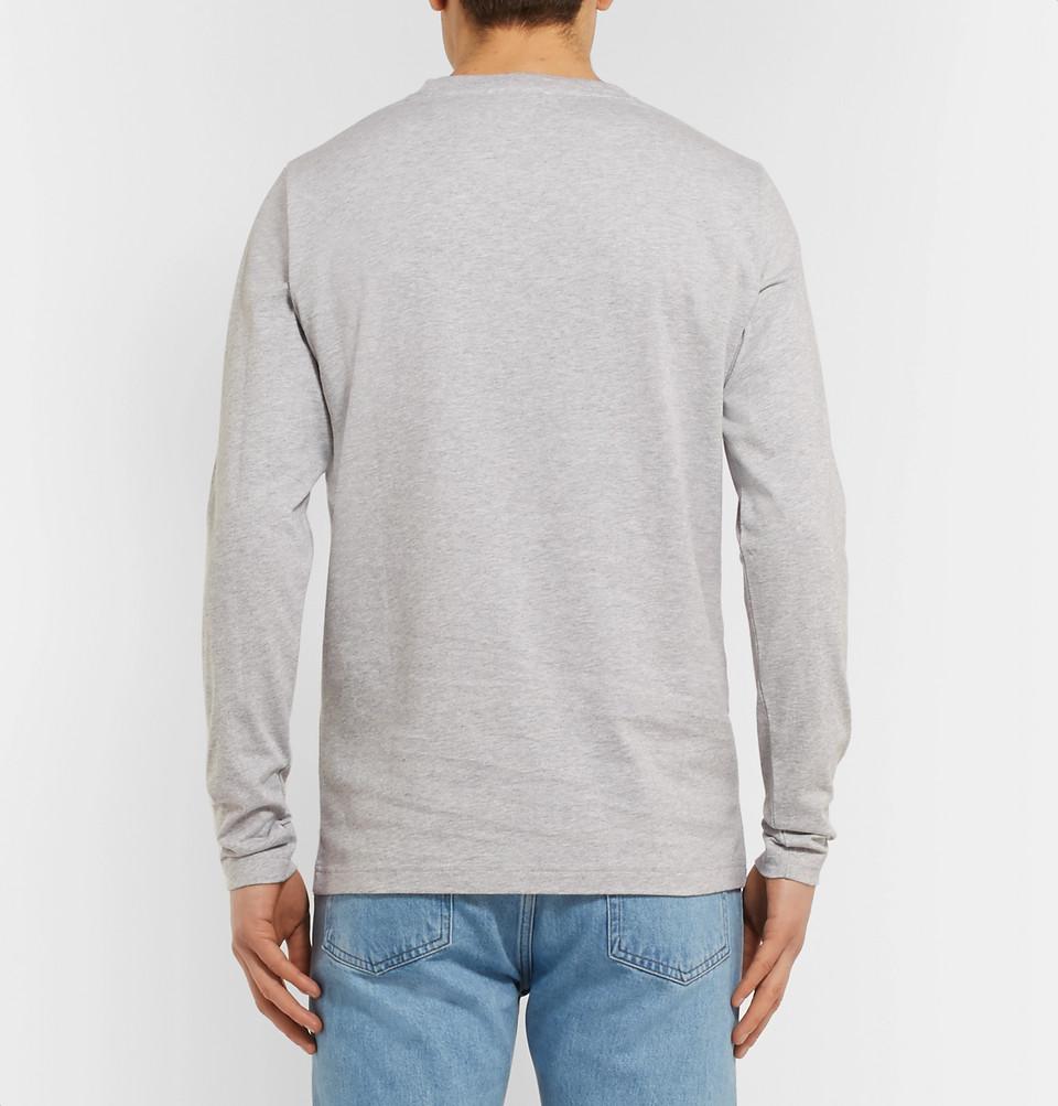 Norse Projects Niels Mélange Cotton-Jersey T-Shirt