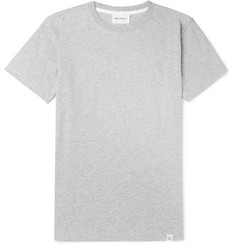 Norse Projects Niels Mélange Cotton-Jersey T-Shirt
