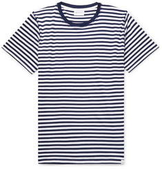 Norse Projects Niels Striped Cotton-Jersey T-Shirt