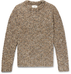 Folk Mélange Knitted Sweater