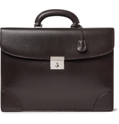 Valextra - Cross-Grain Leather Briefcase