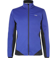 Colmar Monviso Fleece-Back Stretch-Jersey Mid-Layer Jacket