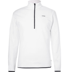 Colmar Monviso Fleece-Back Stretch-Jersey Half-Zip Mid-Layer