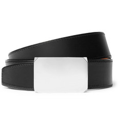 SALLE PRIVÉE 4cm Black and Tan Milton Reversible Leather Belt