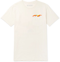 Mollusk Pelican Garment-Dyed Cotton-Jersey T-Shirt