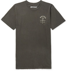 Mollusk Trident Garment-Dyed Cotton-Jersey T-Shirt