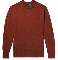 Bellerose Zwart Slim-Fit Wool and Alpaca-Blend Sweater