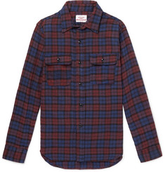 Battenwear Checked Cotton-Flannel Shirt