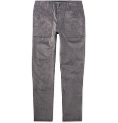 The Workers Club Tapered Cotton-Corduroy Trousers