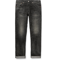 RRL Slim-Fit Distressed Selvedge Denim Jeans