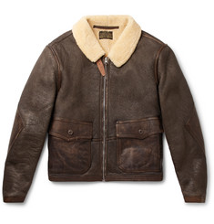 RRL Slim-Fit Shearling Jacket