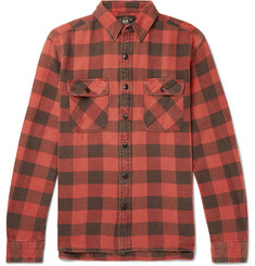 RRL Matlock Checked Cotton-Twill Shirt
