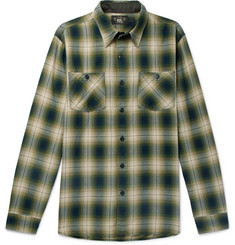 RRL Checked Cotton-Blend Shirt