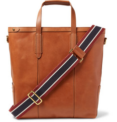 J.Crew Oar Leather Tote Bag