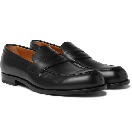 Dennis Leather Loafers by Mr P.