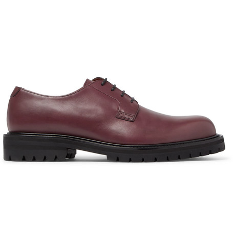 Mr P. Jacques Leather Derby Shoes