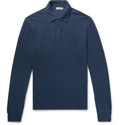 Alex Mill Double-Faced Cotton Polo Shirt