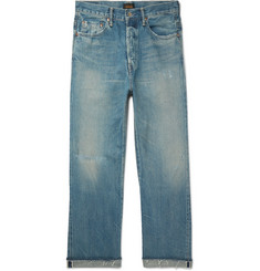 Chimala - Distressed Selvedge Denim Jeans