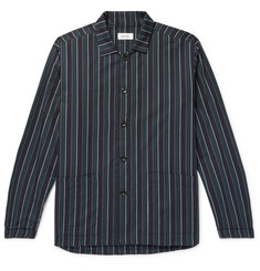 Chimala Striped Cotton-Twill Overshirt
