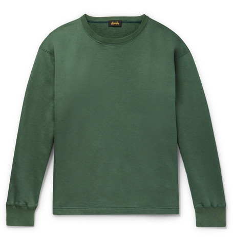Chimala Loopback Cotton In Green
