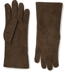 Anderson & Sheppard Shearling Gloves