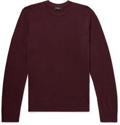 띠어리 Theory Cashmere Sweater,Burgundy