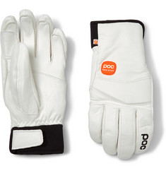 POC Palm Lite Leather-Panelled Padded Gloves