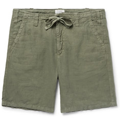 Hartford - Slim-Fit Linen Drawstring Shorts