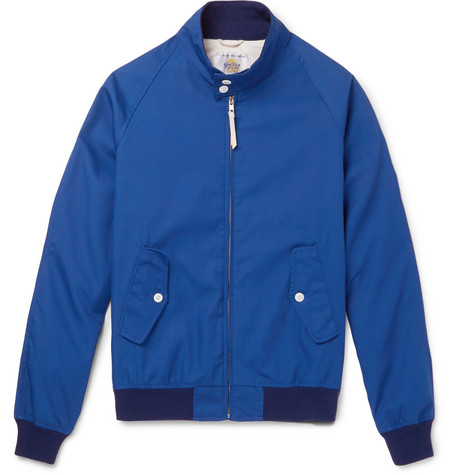 GOLDEN BEAR Poplin Blouson Jacket