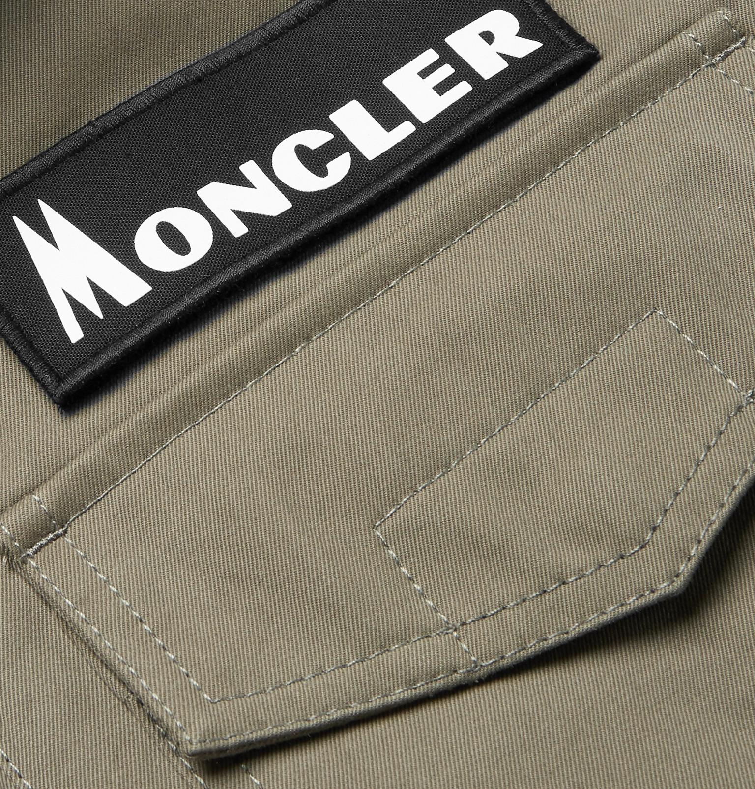 bc6457a13 Moncler Genius - 7 Moncler Fragment Davis Twill Down Field Jacket